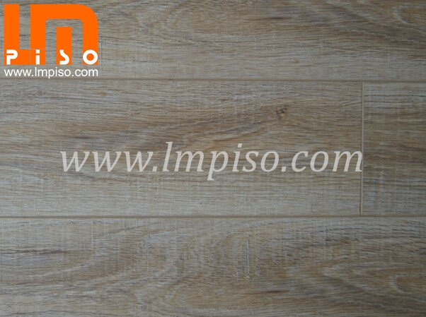 Easy lock beveled v groove cutting stone surface laminated floors