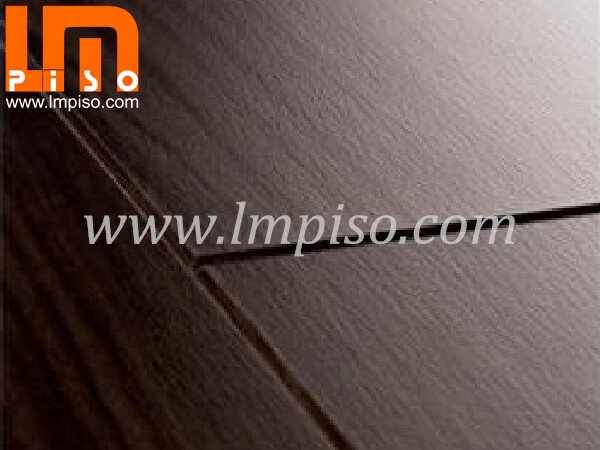 Embossment finish unilin clic beveled edges v groove laminate