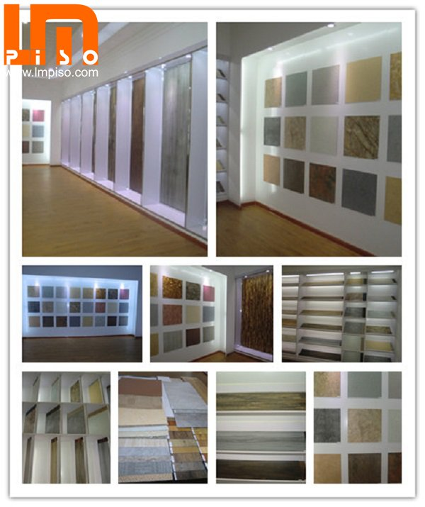 100% virgin 4mm with 0.3mm wear layer pvc flooring made in China