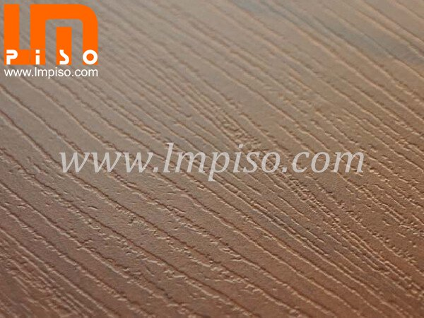 Residential beveled painted v groove teak wood middle embosse