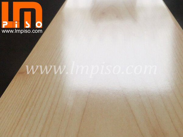 Hot Sale Shining White Color High Gloss Finish Laminate Flooring