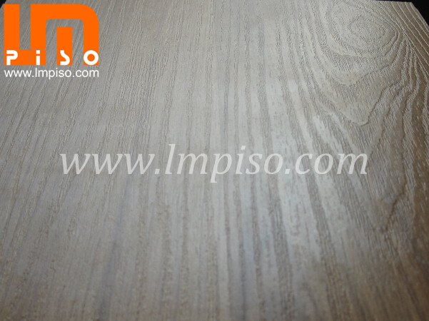 Washed HDF core borad waterproof real wood grain laminate flo