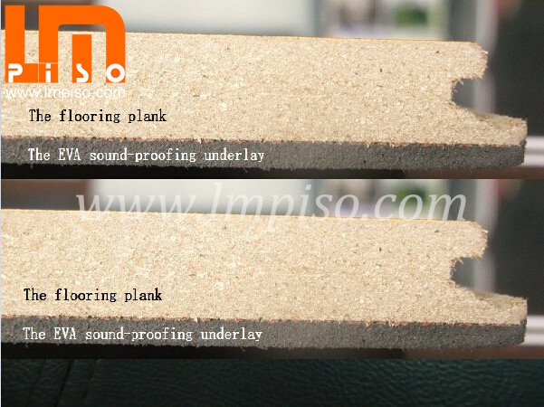 Hot Sale 8mm 12mm Soundproof Commercial Chinese Laminate Flooring
