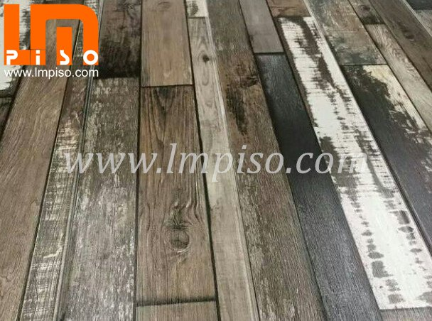 New design of laminate flooring rustic
