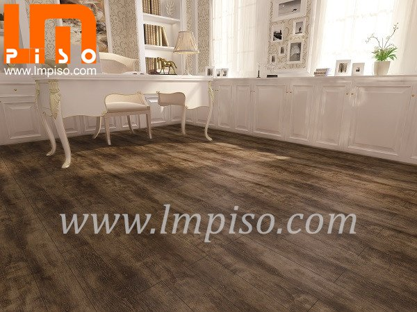 Great 100% Waterproof Easy Installed Luxury Vinyl Flooring 6mm Thickness