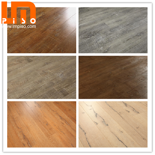 Best quality ac4 classic wenge textured finish laminate flooring
