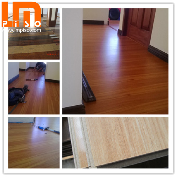 German technology unilin clic environment friendly green core laminated floors